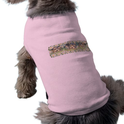 Daisy Dogs Yorkie Puppies Doggie Tshirt