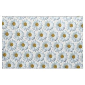 Daisy Fabric Yellow Daisy Fabric Cotton or Poly