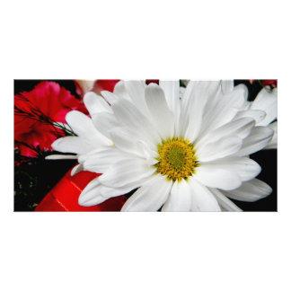 Daisy Face Custom Photo Card