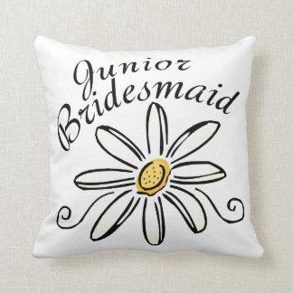 Daisy Floral Jr. Bridesmaid Cushions