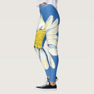Daisy floral leggings
