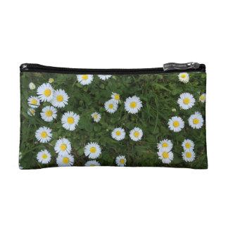 Daisy Flower Cosmetics Bag