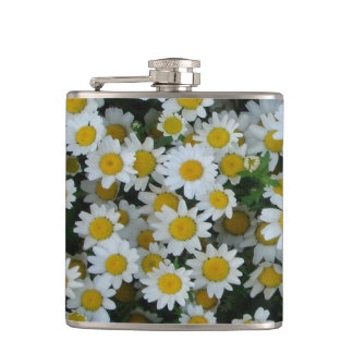 Daisy flower drinking flask