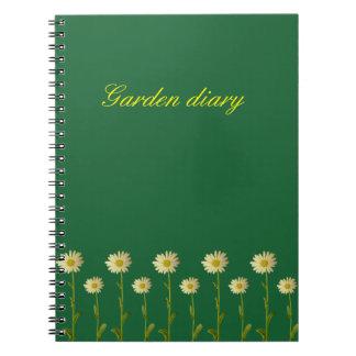 Daisy flower - flowered notebooks