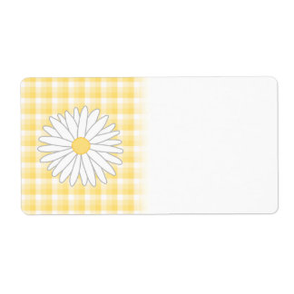 Daisy Flower in Yellow and White.
