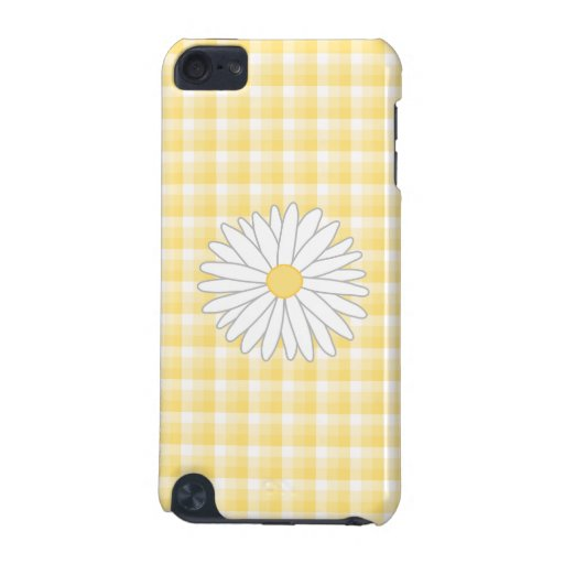 Daisy Flower in Yellow and White. iPod Touch (5th Generation) Case