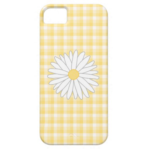 Daisy Flower in Yellow and White. iPhone 5 Covers