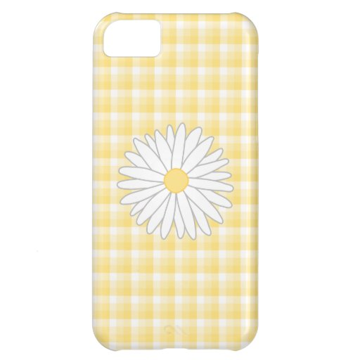 Daisy Flower in Yellow and White. iPhone 5C Covers