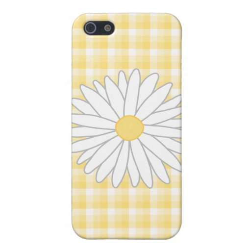 Daisy Flower in Yellow and White. iPhone 5 Cover