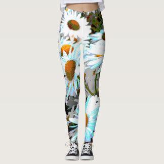 Daisy Flower Leggings