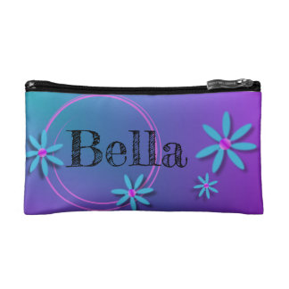 Daisy Flower Make it Yours Cosmetic Bag