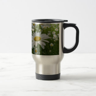 Daisy Flower Coffee Mugs