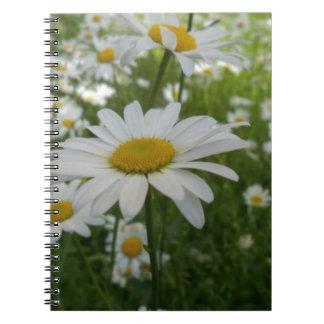 Daisy Flower Notebook
