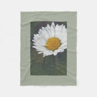 Daisy  flower photography art blanket