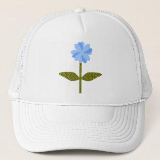Daisy Flower Pretty Blue Floral Hat