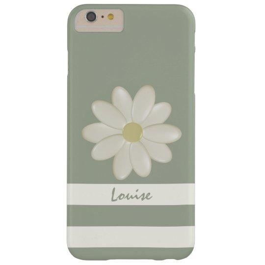 Daisy Flower Stripes iPhone 6/6s Plus Case