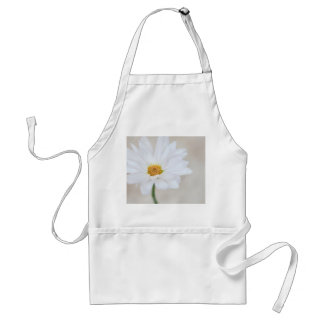 Daisy Flower White Yellow Daisies Blossom Floral Standard Apron