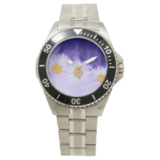 Daisy Flower Wrist Watches
