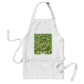 Daisy flowers apron