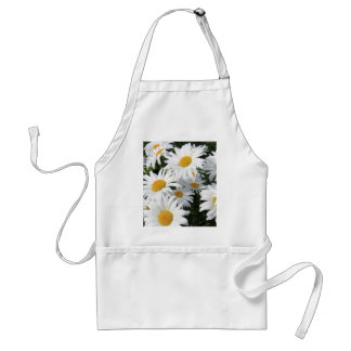 Daisy Flowers Growing White Aprons