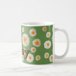 Daisy flowers personalized Mug