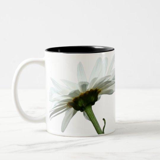 Daisy Fresh Two-Tone Coffee Mug