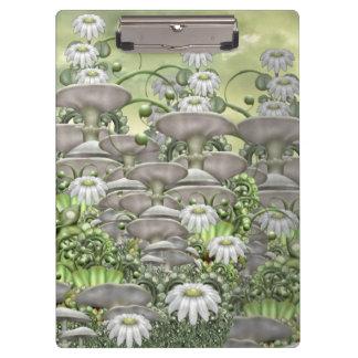 Daisy garden  - (mushroom club) clipboard