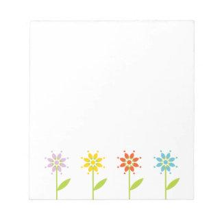 Daisy Garden Notepad