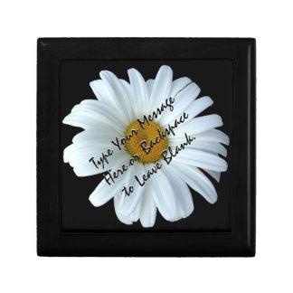 Daisy Gift Box Personalized Daisy Jewelry Box