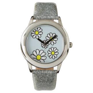 Daisy Glitter Watch