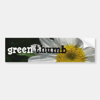 Daisy, Green-Thumb Bumper Sticker
