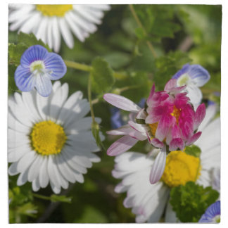 daisy in the garden printed napkins