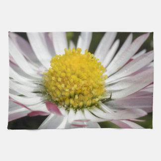 daisy in the garden tea towel