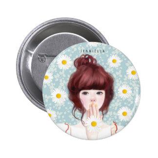 Daisy Jennie 2¼ Inch Round Button
