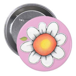 Daisy Joy pink 2 Button