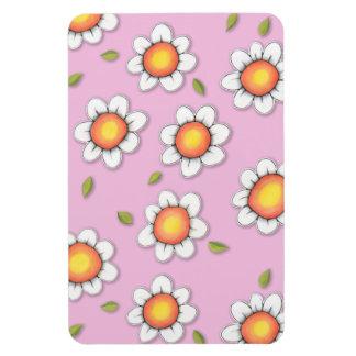 Daisy Joy pink Daisies Premium Magnet