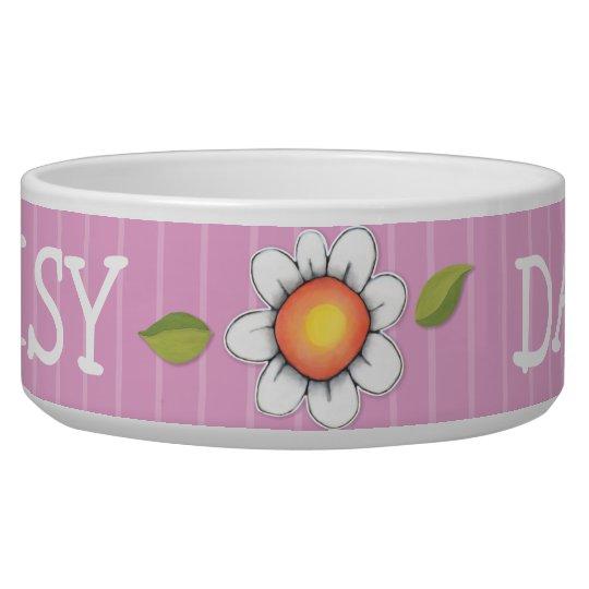 Daisy Joy pink Dog Pet Bowl