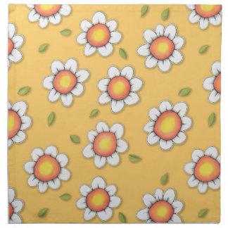 Daisy Joy yellow Daisies Napkins