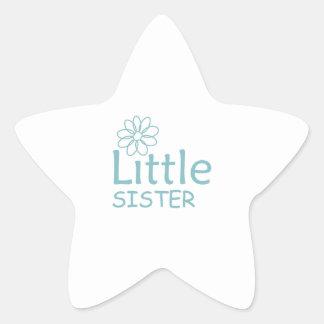 DAISY LITTLE SISTER STAR STICKER