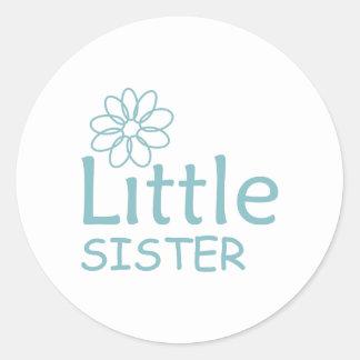 DAISY LITTLE SISTER ROUND STICKER