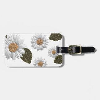 Daisy luggage tag