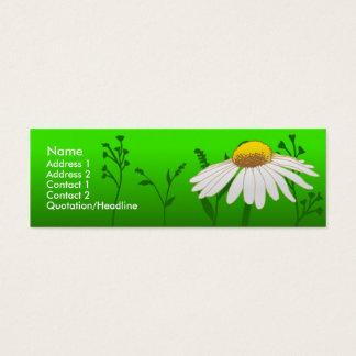 Daisy Mini Business Card