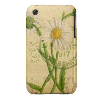 Daisy Mixed Media Collage Iphone Touch Cover iPhone 3 Case