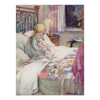Daisy My Dolly by Anne Anderson Poster