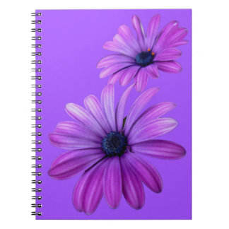 Daisy Notebook Purple Daisy Journals Gifts