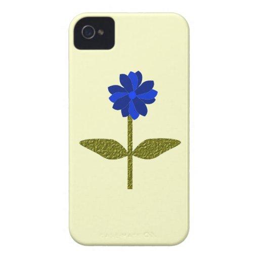 Daisy Ocean Blue Blackberry Bold Case