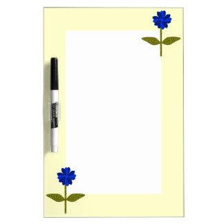 Daisy Ocean Blue Memo Board