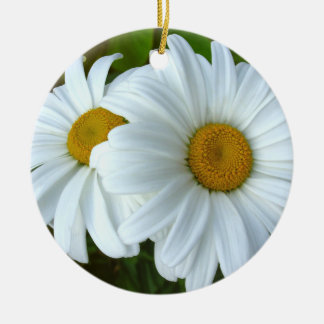 Daisy Ornament Flowers Christmas Decoration