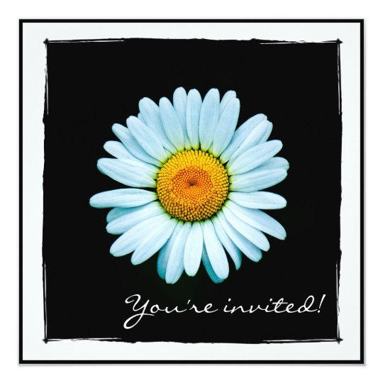 Daisy Party Invitation