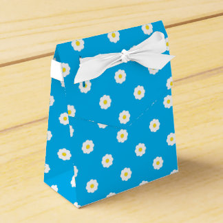 Daisy Pattern Favor Box Wedding Favour Box